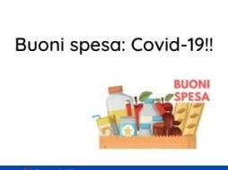 Buoni Spesa Covid 19