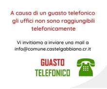 Guasto telefonico